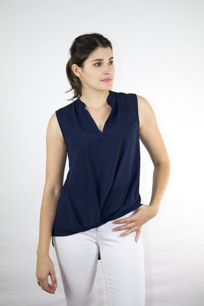 Chiffon Sleeveless Top
