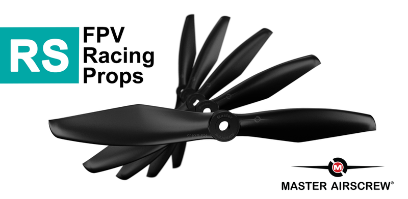Finally - FPV Racing Propellers for PROs by Master Airscrew