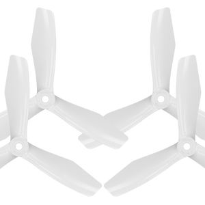 BN-3blade-FPV - 5x4.5 Prop Set x4 White - Master Airscrew - Multi Rotor/ Model Airplane Propellers
