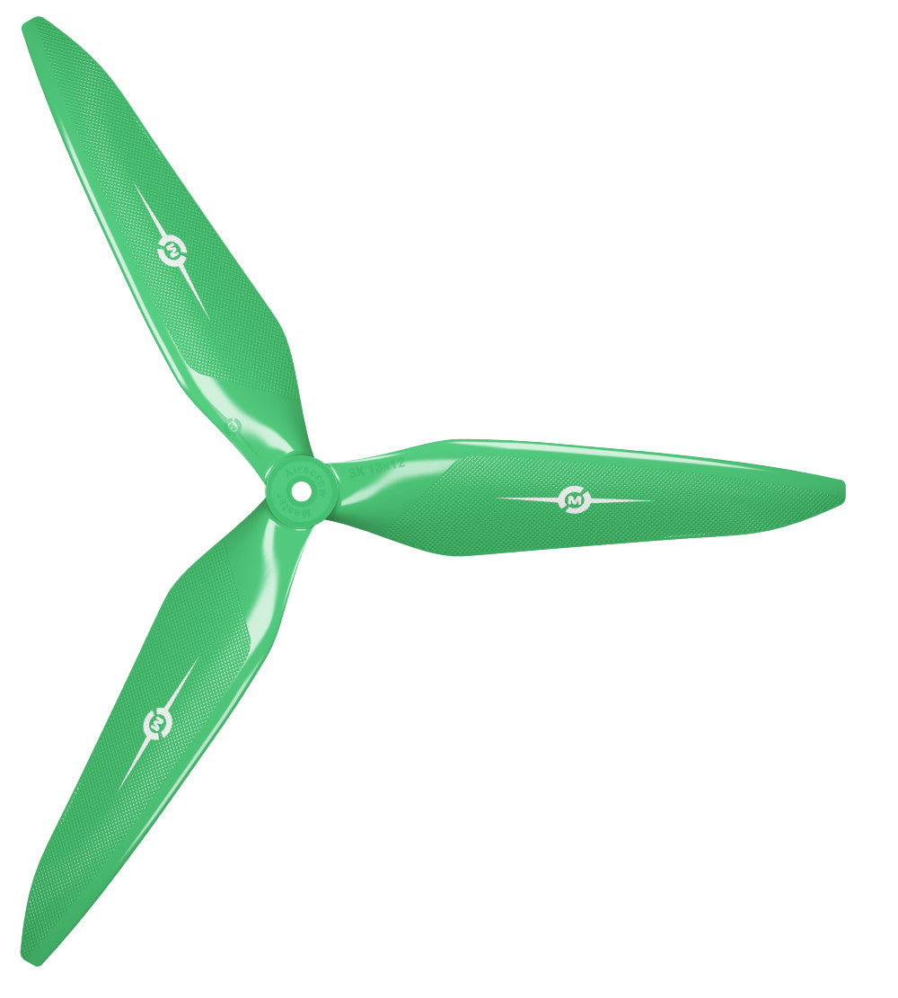 3X Power - 13x12 Propeller (CCW) Green - Master Airscrew - Multi Rotor/ Model Airplane Propellers