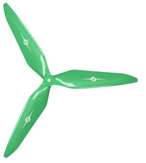 3X Power - 13x12 Propeller (CW) Rev./Pusher Green - Master Airscrew - Multi Rotor/ Model Airplane Propellers