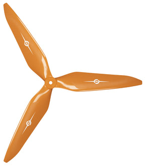 3X Power - 13x12 Propeller (CW) Rev./Pusher Orange - Master Airscrew - Multi Rotor/ Model Airplane Propellers