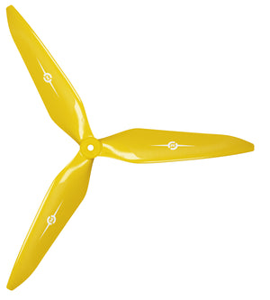3X Power - 13x12 Propeller (CW) Rev./Pusher Yellow - Master Airscrew - Multi Rotor/ Model Airplane Propellers