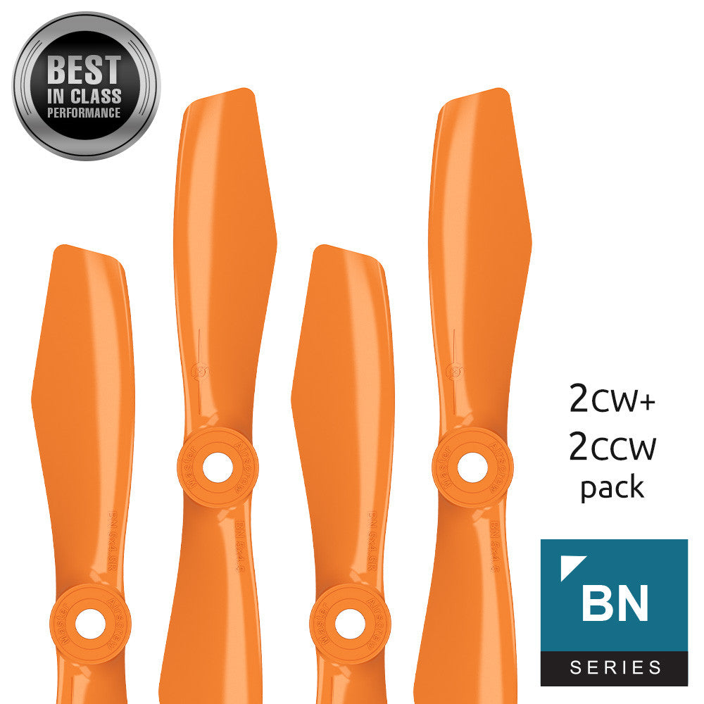 BN FPV bullnose - 5x4.5 Prop Set x4 Orange - Master Airscrew - Multi Rotor/ Model Airplane Propellers