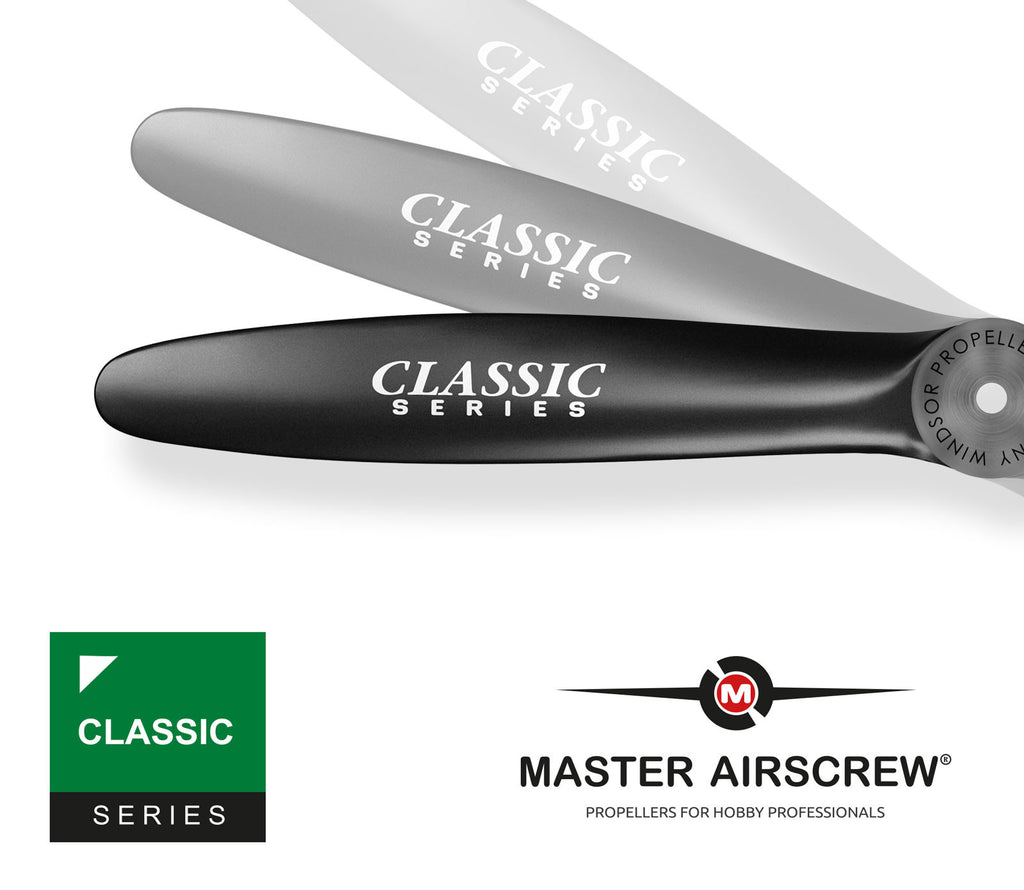 Classic - 12.5x5 Propeller - Master Airscrew - Multi Rotor/ Model Airplane Propellers