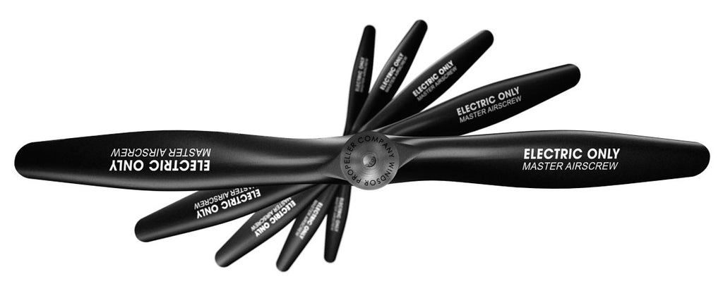 Electric Only - 6x3 Propeller Rev./Pusher - Master Airscrew - Multi Rotor/ Model Airplane Propellers