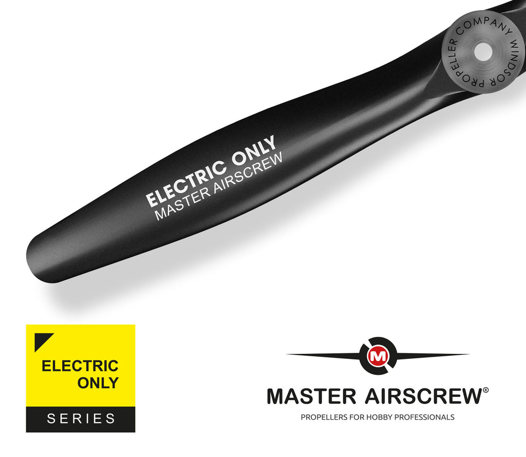 Electric Only - 9x4 Propeller Rev./Pusher - Master Airscrew - Model Airplane / Drone Propellers