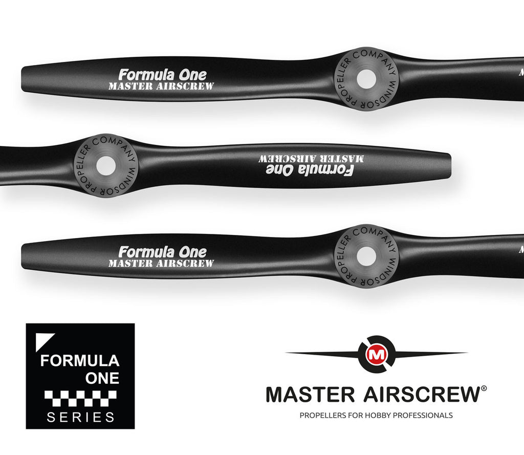Formula One - 13.5x4 Propeller - Master Airscrew - Multi Rotor/ Model Airplane Propellers