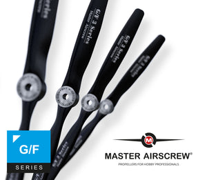 GF Series - 10x8 Propeller - Master Airscrew - Multi Rotor/ Model Airplane Propellers