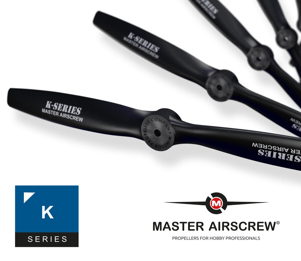 K Series - 12x5 Propeller - Master Airscrew - Multi Rotor/ Model Airplane Propellers