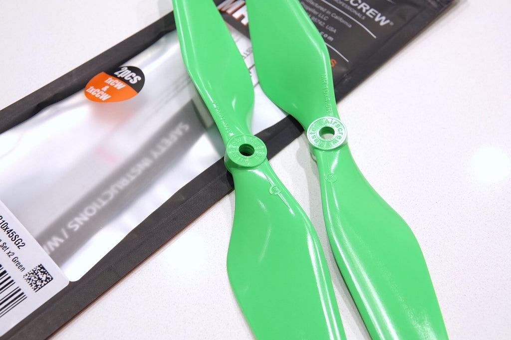 MR Series - Multi Rotor - 10x4.5 Propeller Green - Master Airscrew - UAV / Drone Propellers