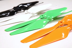 MR Series - 8x4.5 Prop Set x2 Green - Master Airscrew - Drone and Model Airplane Propellers
