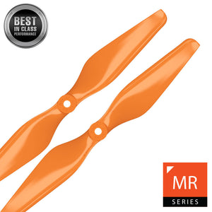 MR Series - 10x4.5 Propeller Set x2 Orange - Master Airscrew - Multi Rotor/ Model Airplane Propellers