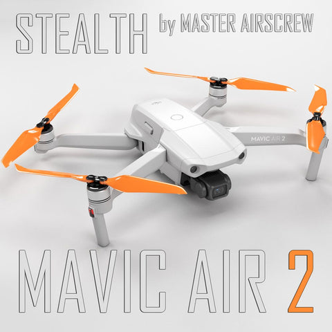 DJI Mavic Air 2 STEALTH Upgrade Propellers - x4 Orange