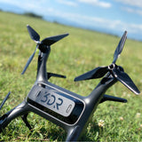 3DR Solo 3-Blade Upgrade Propellers - 3MR-SL - 9x4.5 Prop Set x4 Black - Master Airscrew - Multi Rotor/ Model Airplane Propellers