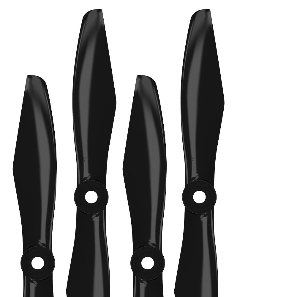 RS FPV Racing - 5x4.5 Prop Set x4 Black - Master Airscrew - Drone and Model Airplane Propellers
