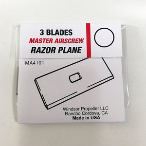 Razor Plane Replacement Blades - Master Airscrew - Multi Rotor/ Model Airplane Propellers
