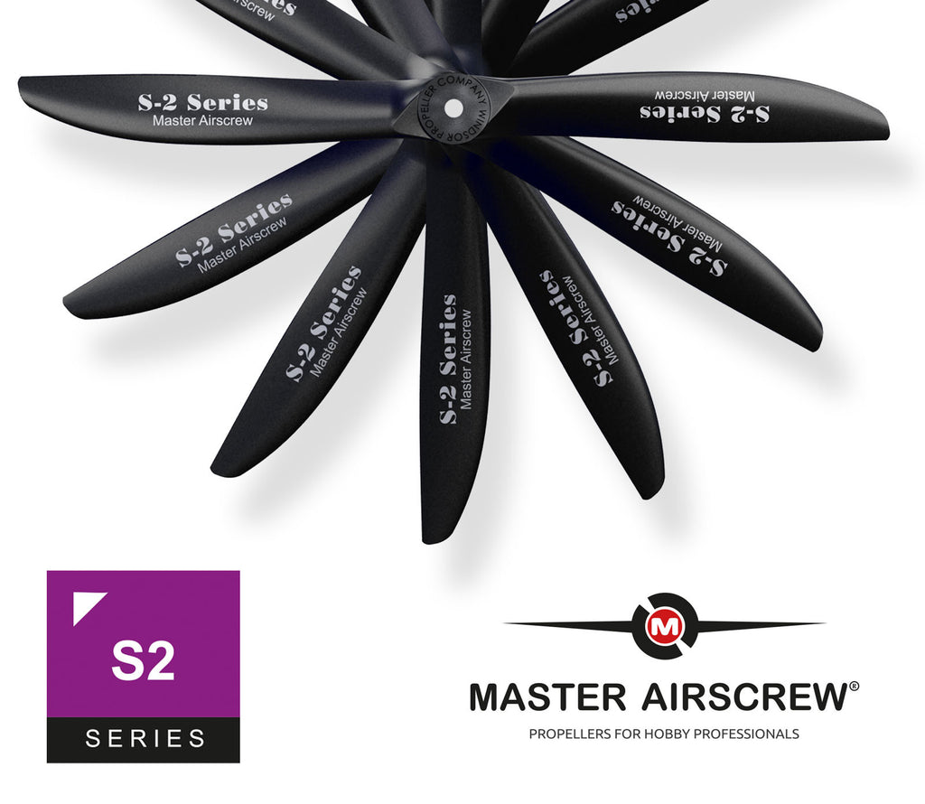 Scimitar - 13x8 Propeller - Master Airscrew - Multi Rotor/ Model Airplane Propellers