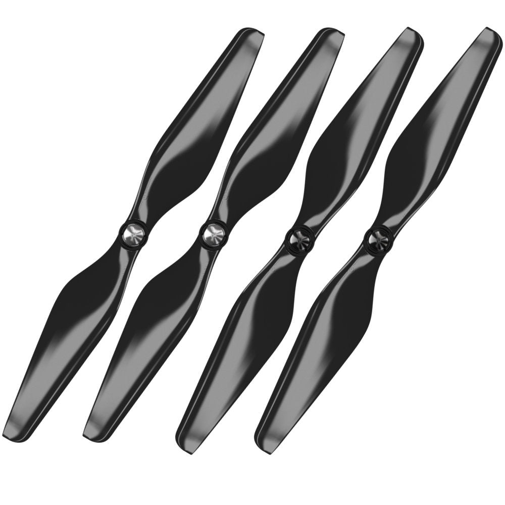 3DR Solo Built-in Nut Upgrade Propellers - MR SL 10x4.5 Set x4 Black - Master Airscrew