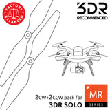 MR Series - Multi Rotor - 3DR Solo Propellers White - Master Airscrew - 3DR Recommended