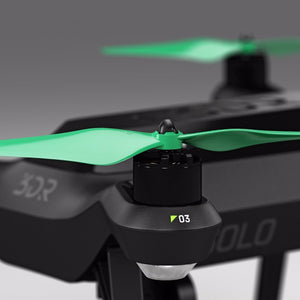 3DR Solo Built-in Nut Upgrade Propellers - MR SL 10x4.5 Set x4 Green - Master Airscrew - Multi Rotor/ Model Airplane Propellers