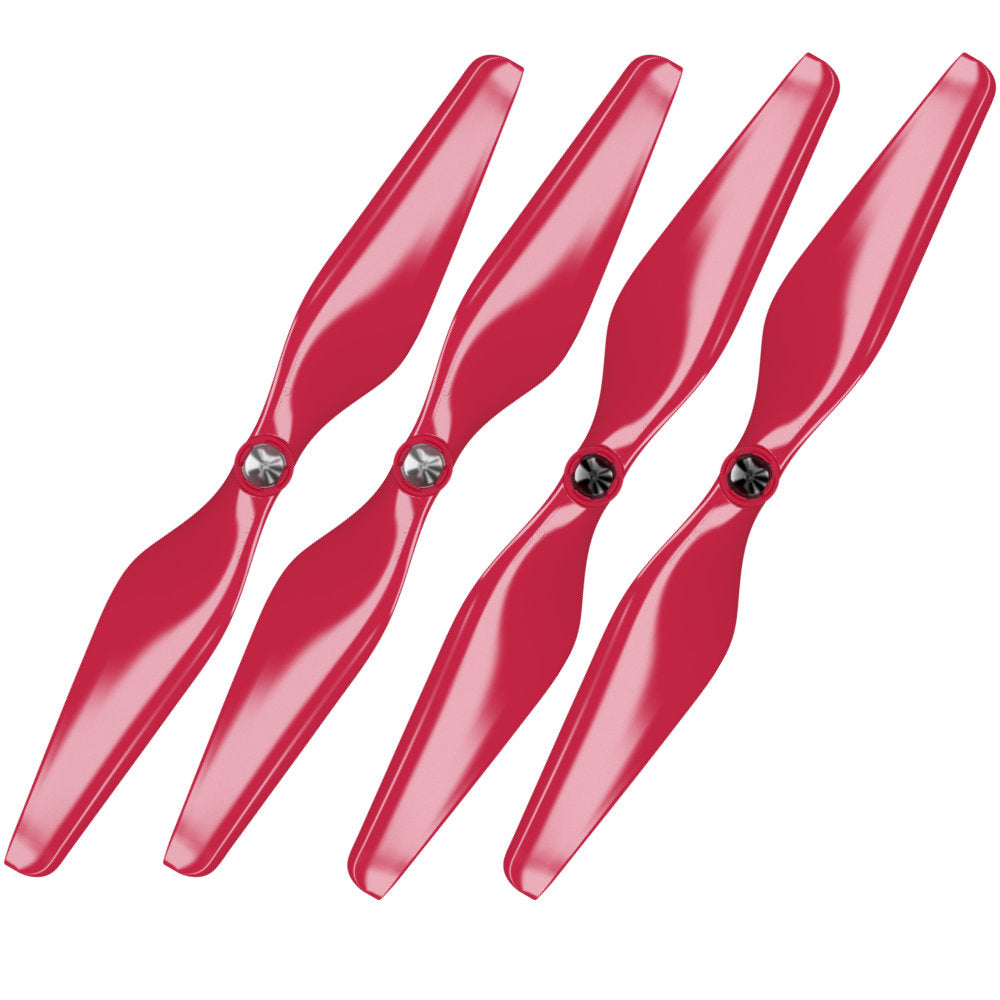 3DR Solo Built-in Nut Upgrade Propellers - MR SL 10x4.5 Set x4 RED - Master Airscrew