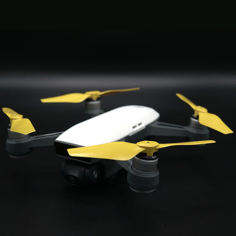 DJI Spark STEALTH Upgrade Propellers - x4 Yellow