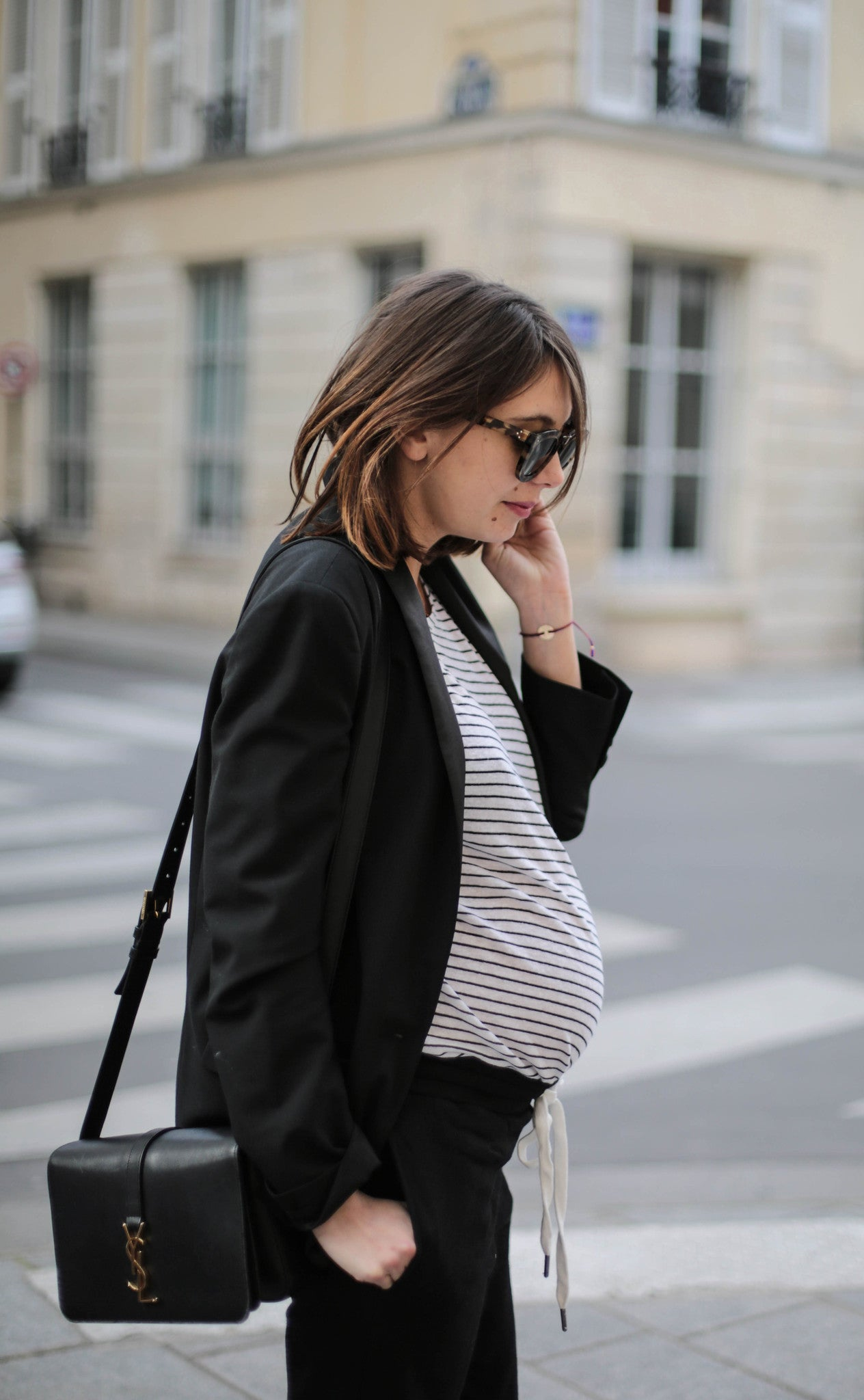 Maternity Stripe Top
