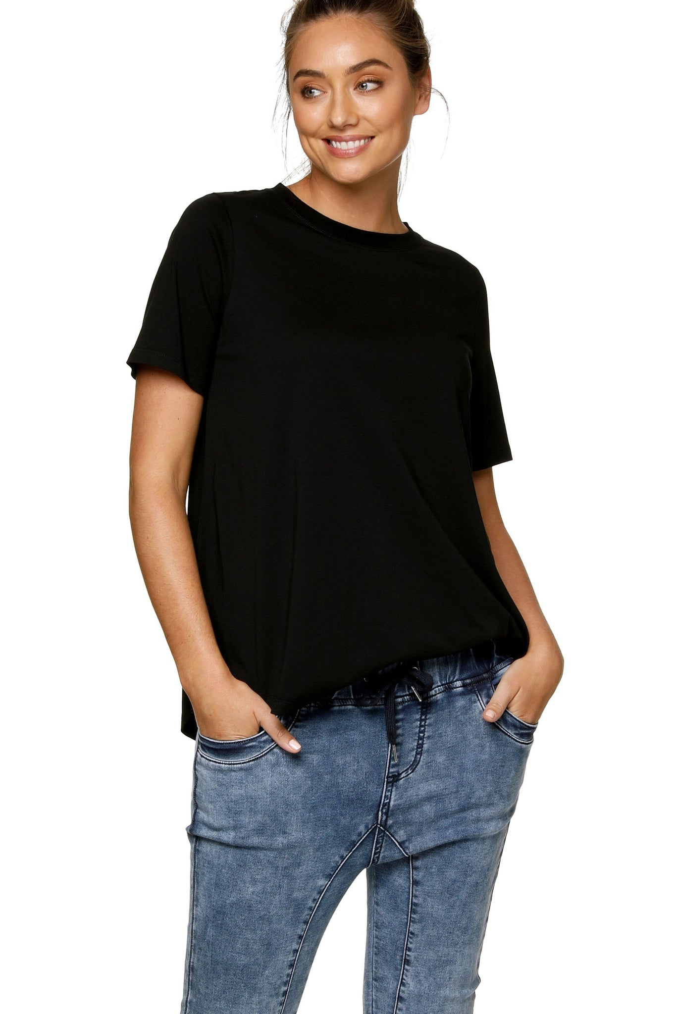 Maternity T Shirt - Black 6