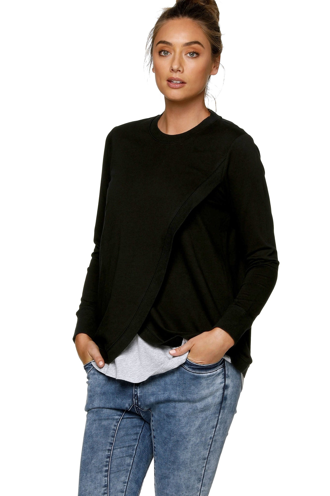 Black Nursing Sweat Top 5