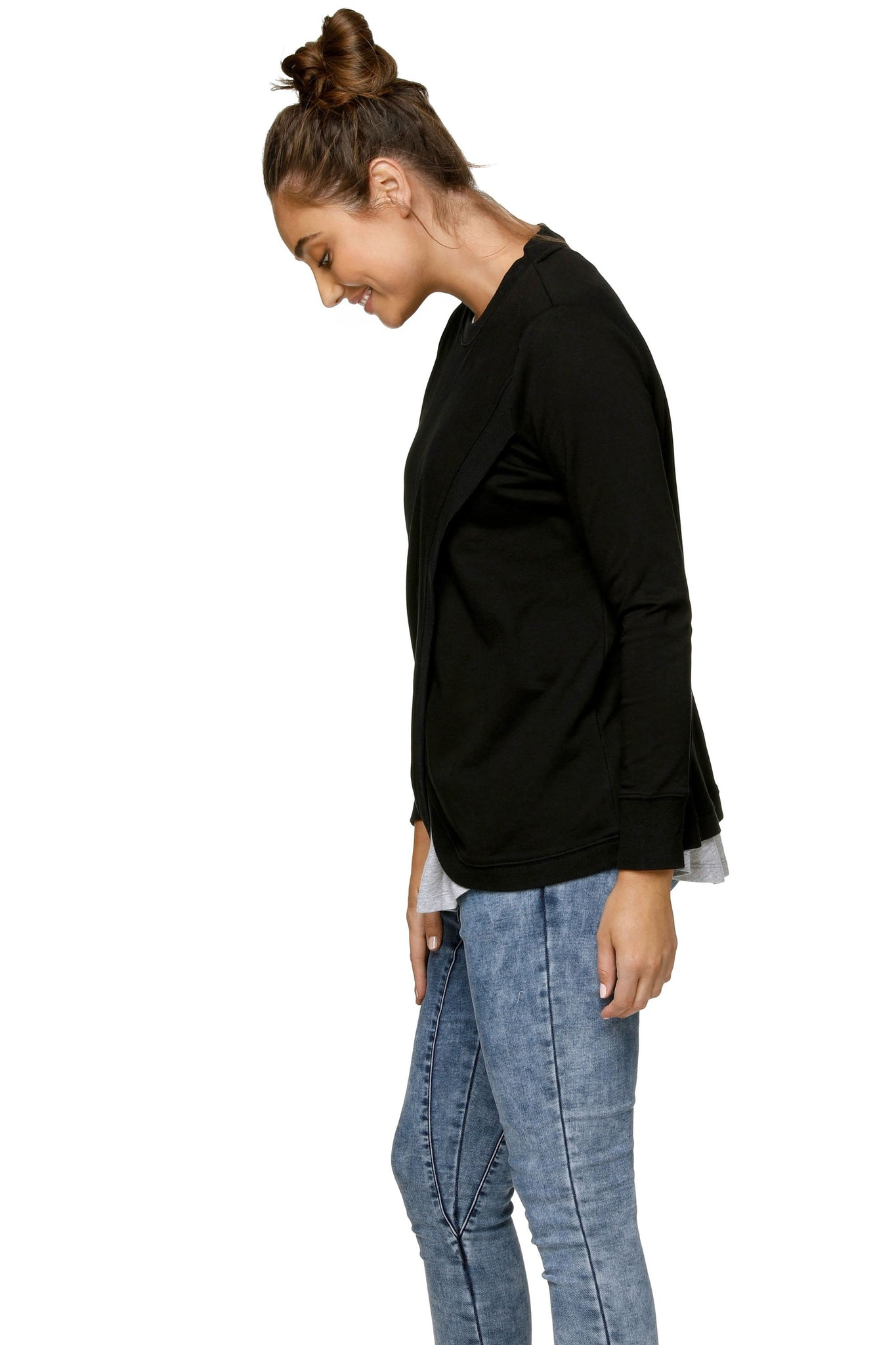 Black Nursing Sweat Top 6