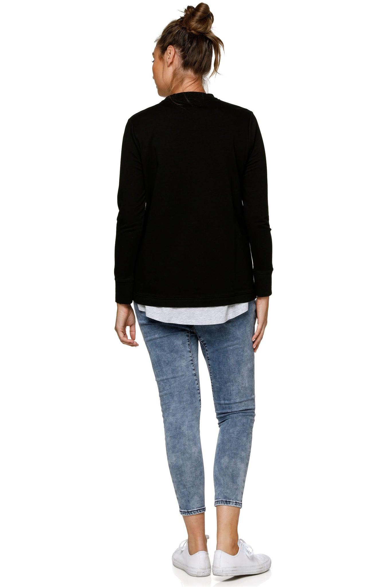 Black Nursing Sweat Top 7