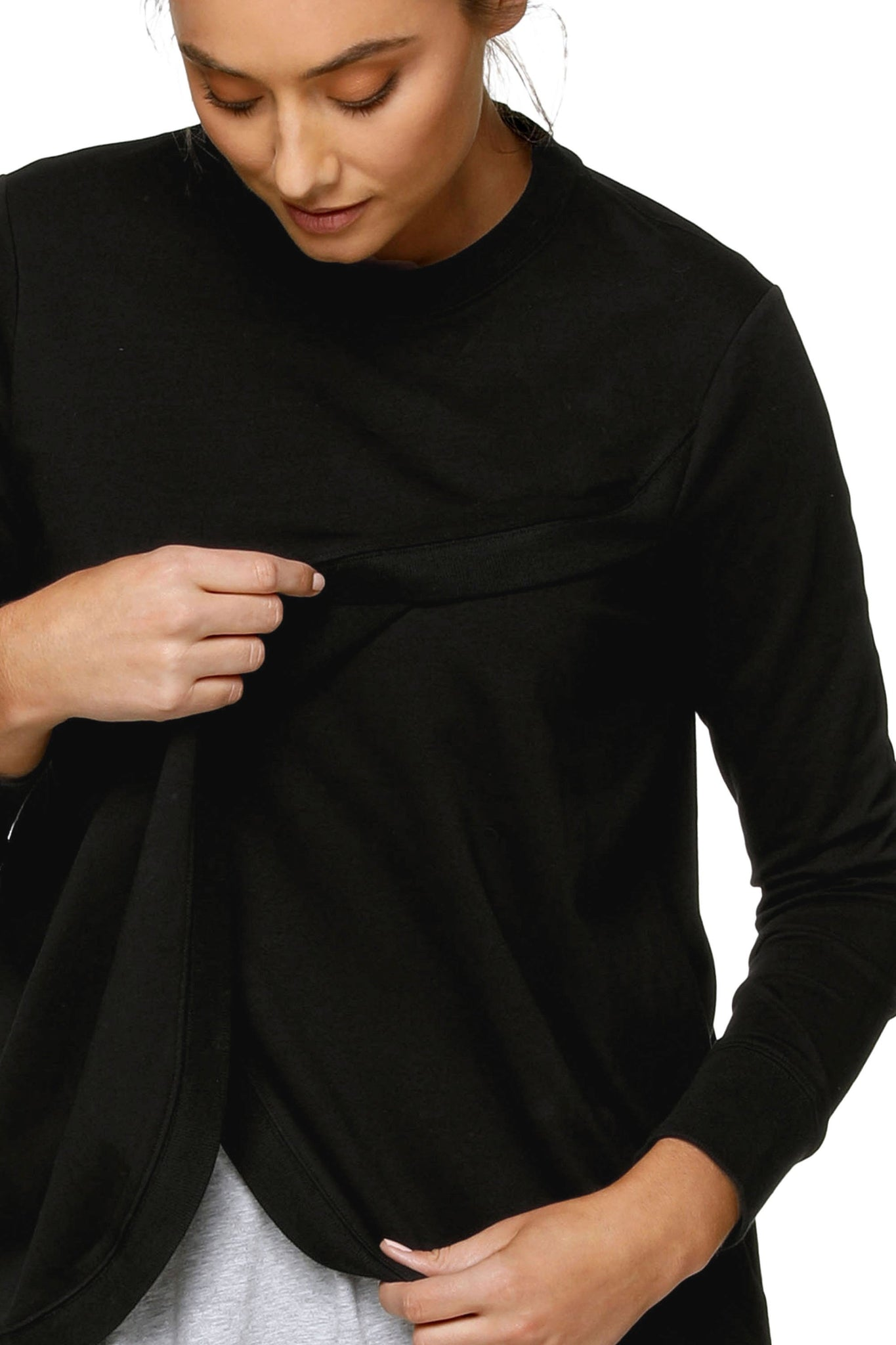 Black Nursing Sweat Top 8