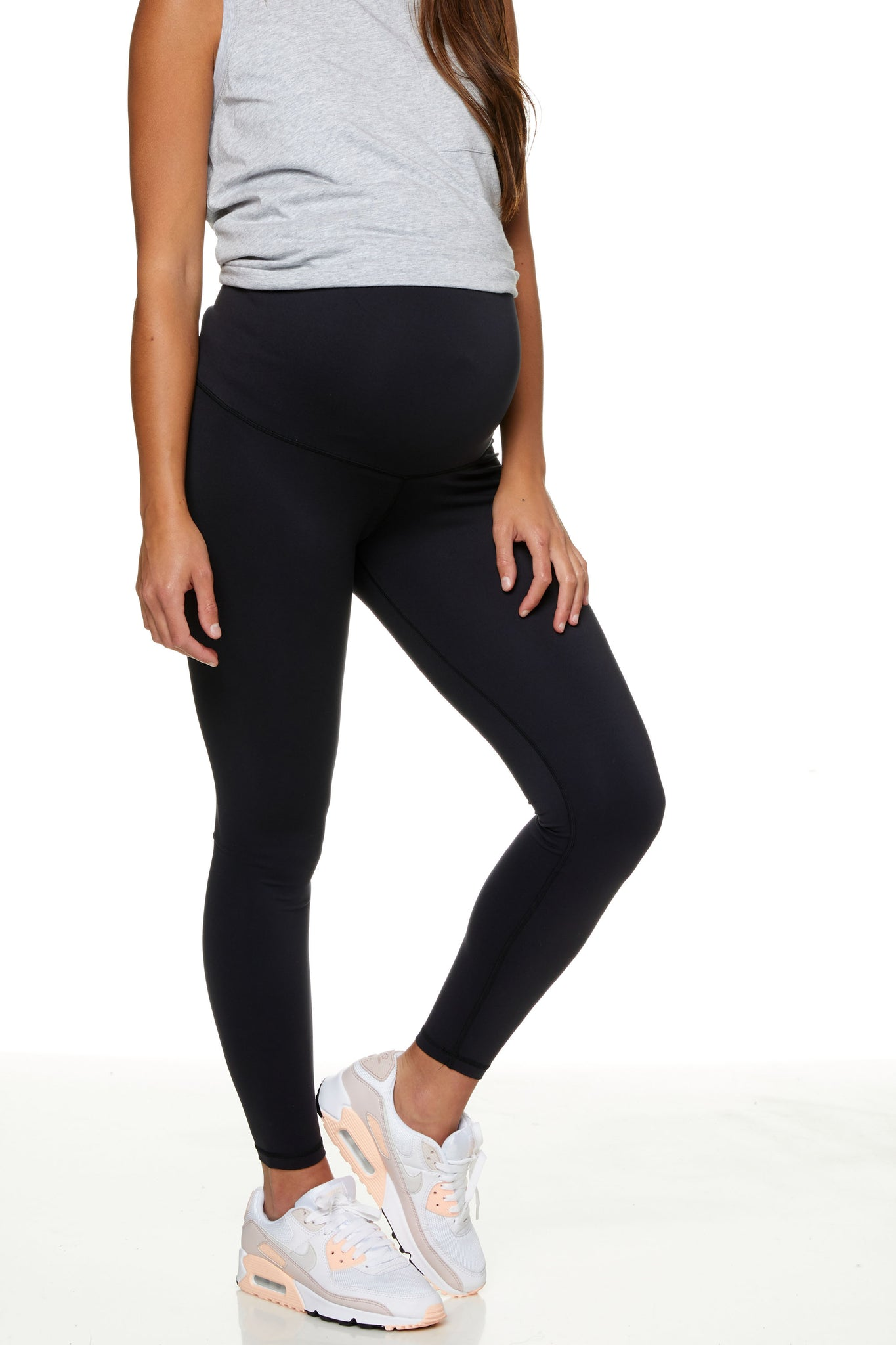 Maternity Leggings - Black 1