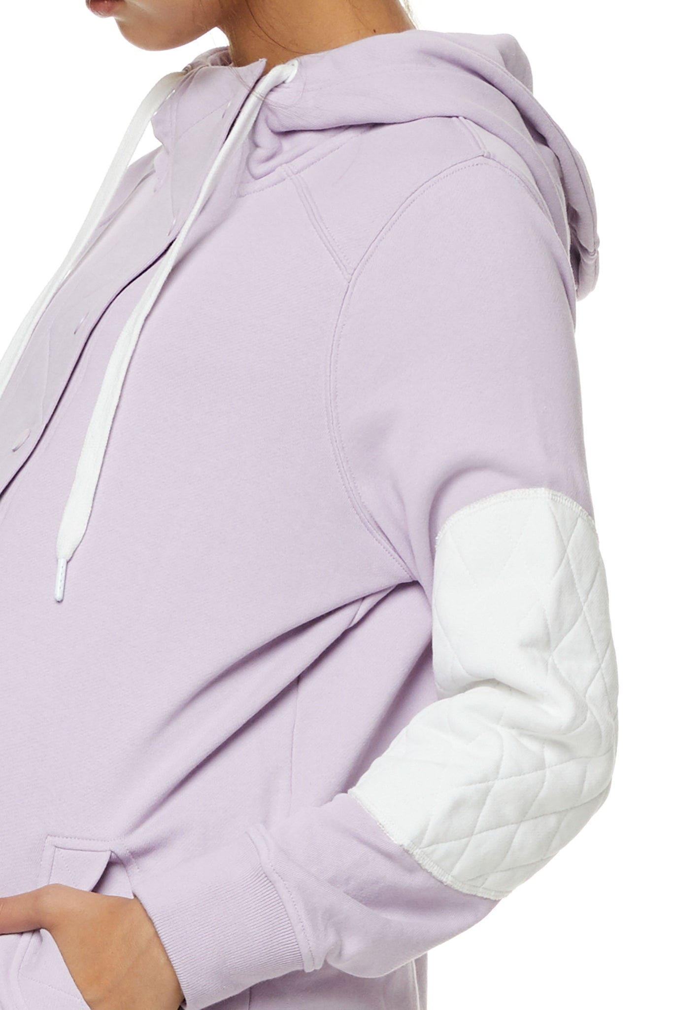 Maternity and Nursing Hoodie Lilac Image 3