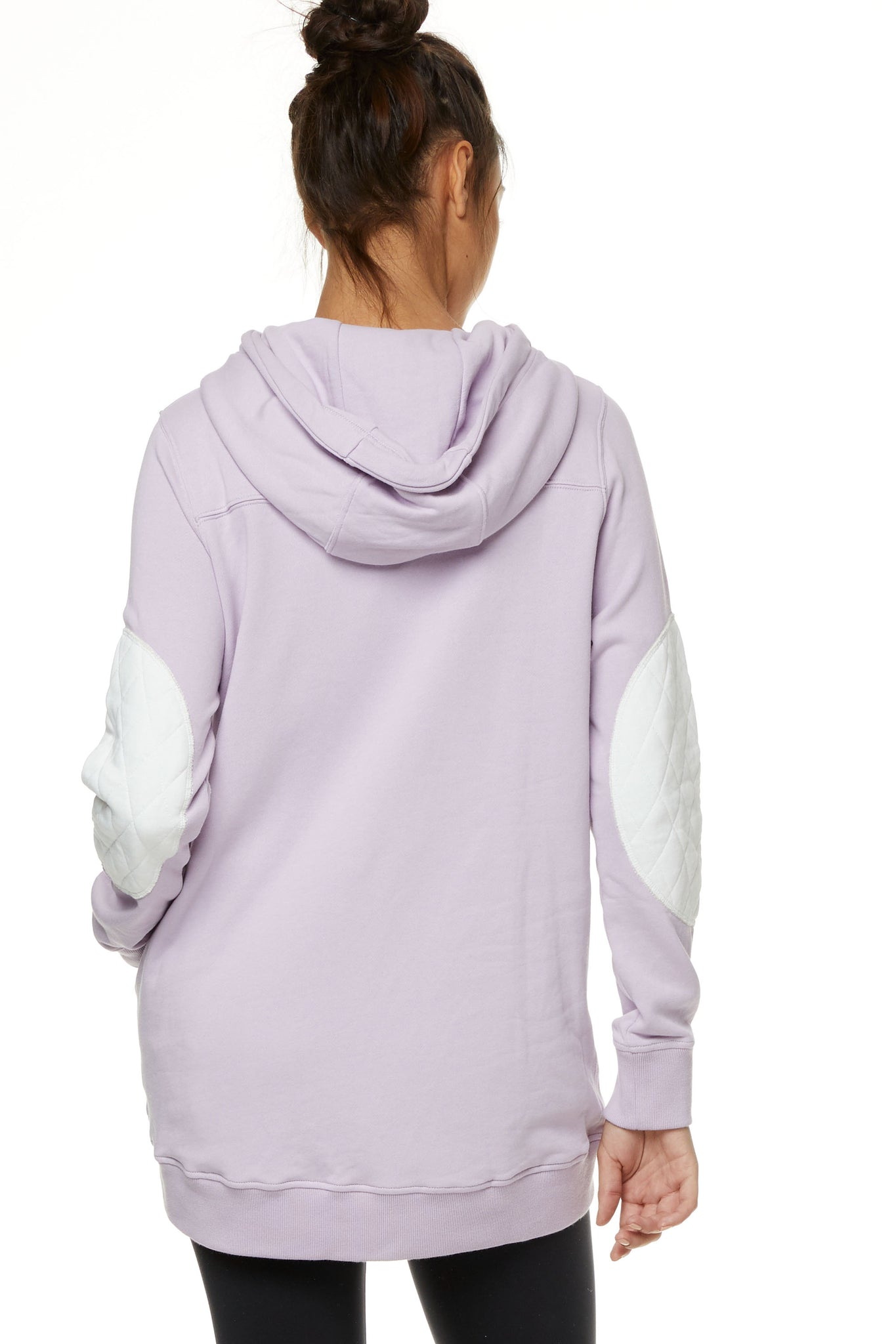 Maternity and Nursing Hoodie Lilac Image 5