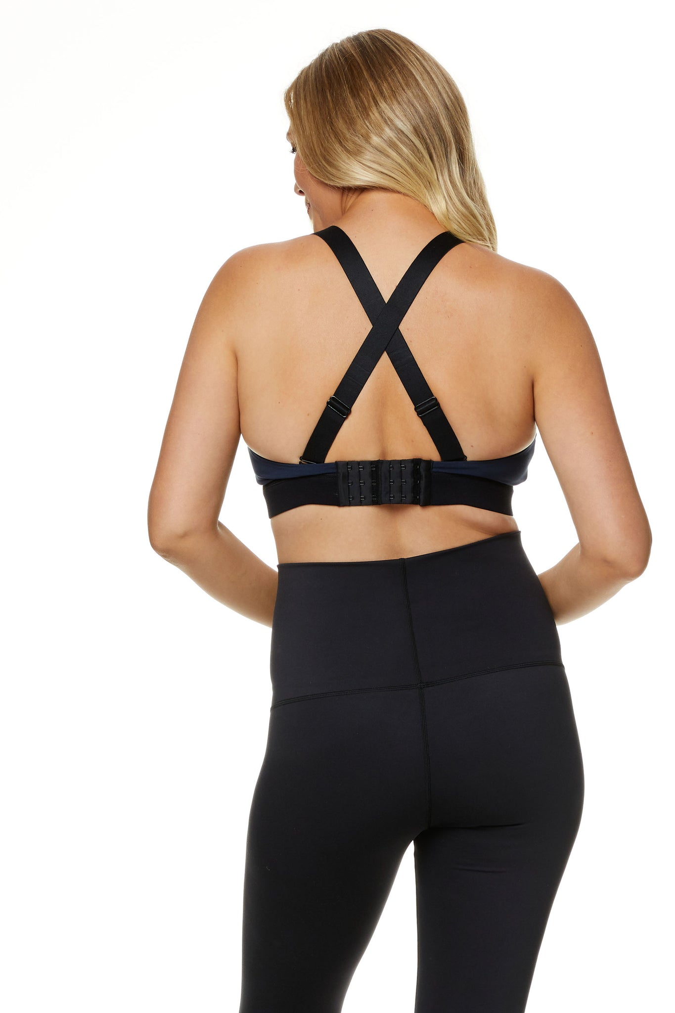 BodyHold™  Set In Motion Colour Block Crop