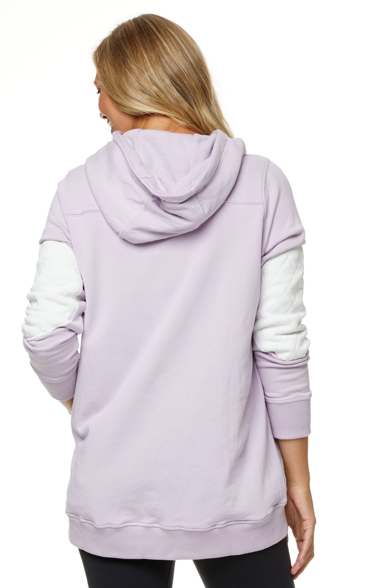 Maternity and Nursing Hoodie Lilac Image 7