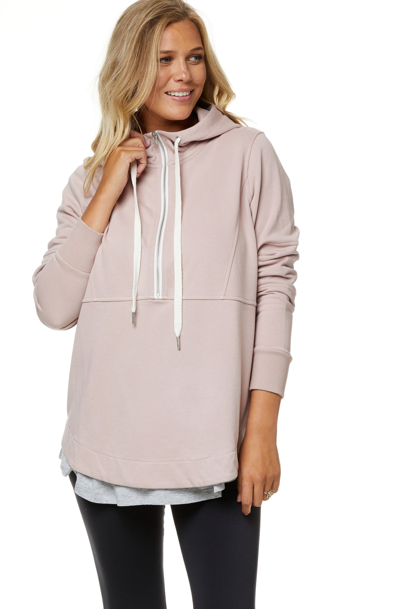 Maternity and Nursing Zip Hoodie 6