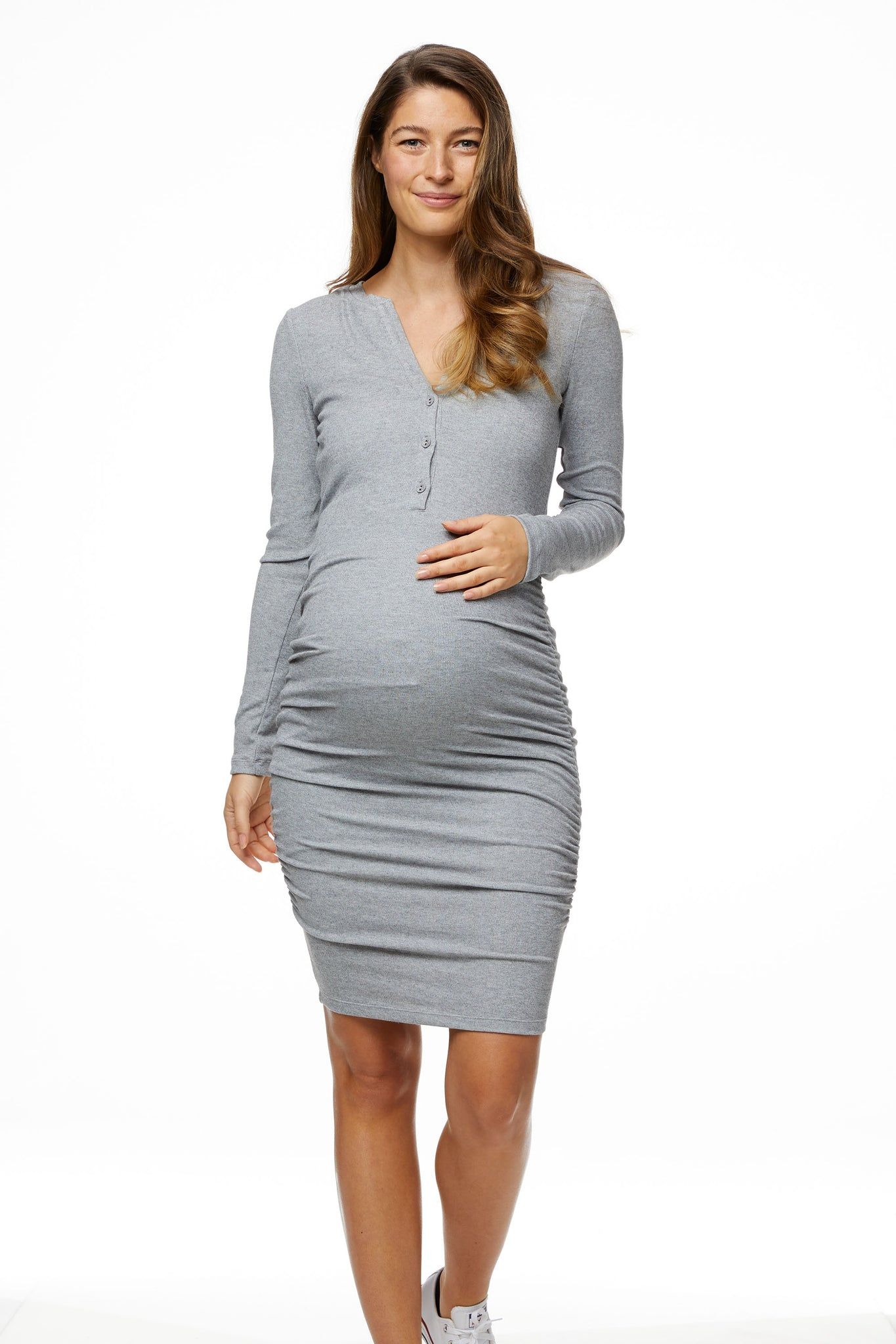 Gather Around Nursing Dress