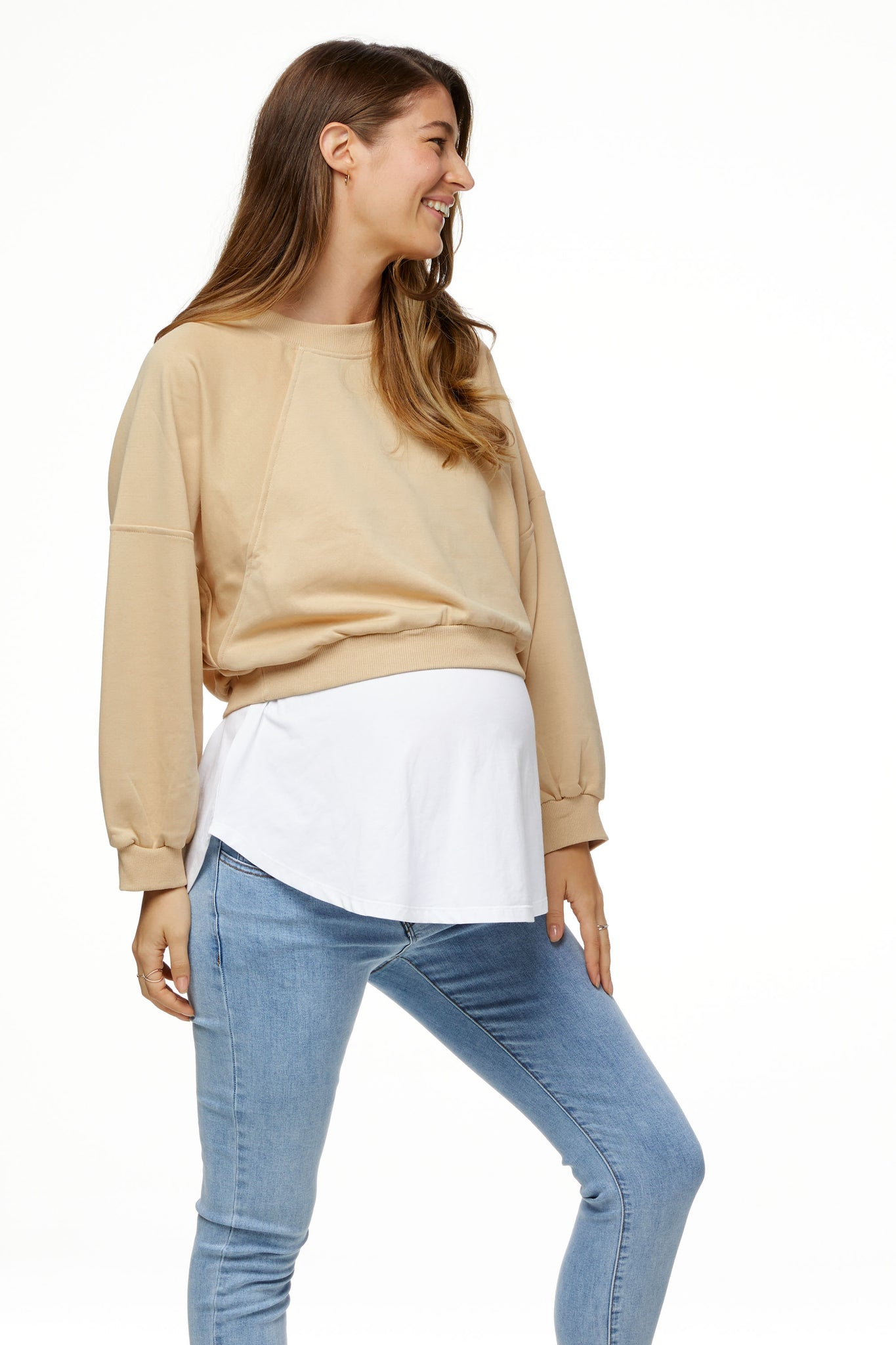 Maternity Cropped Sweat 2