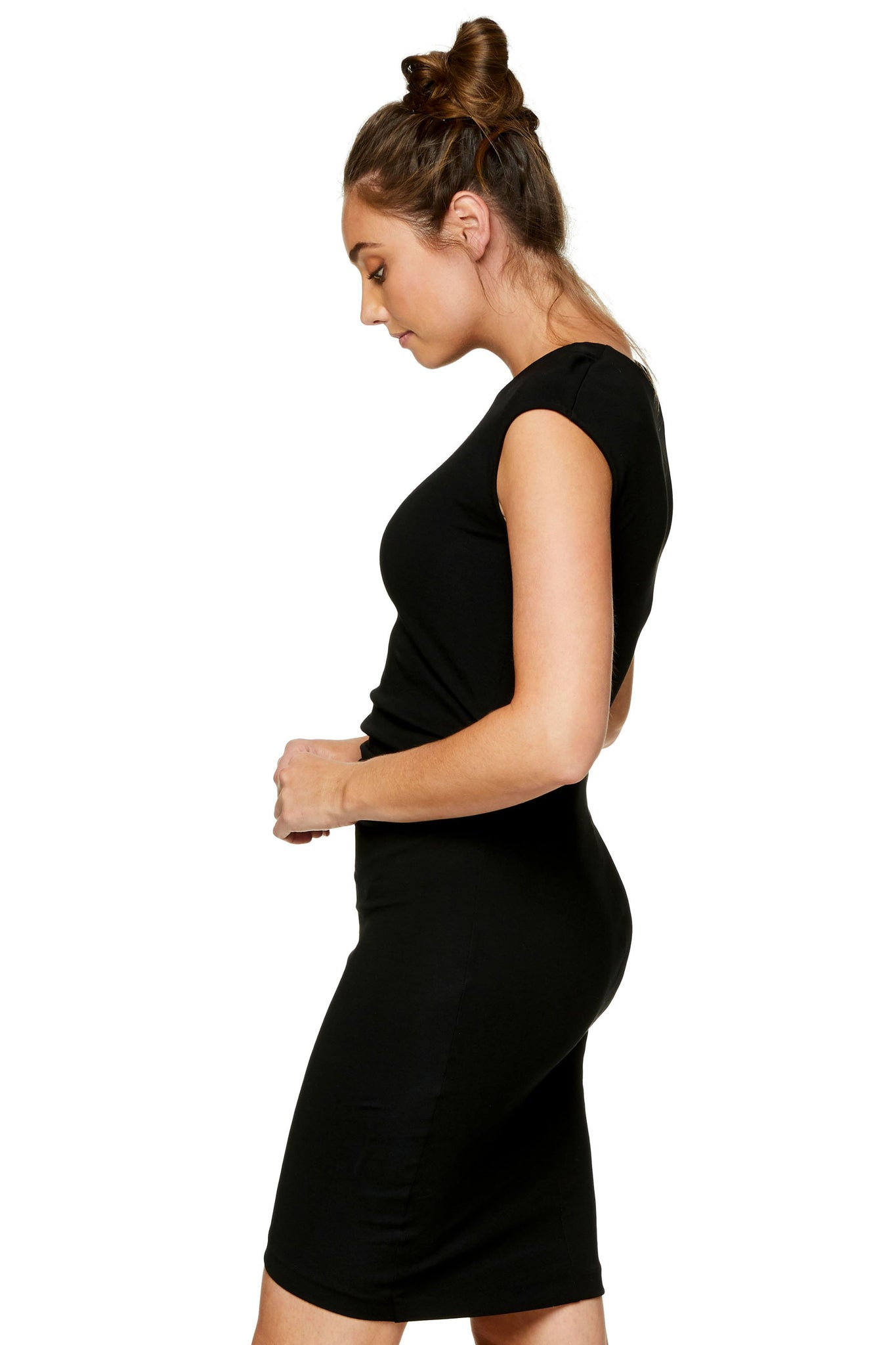 Black Maternity Dress - Formal Maternity Dress 5