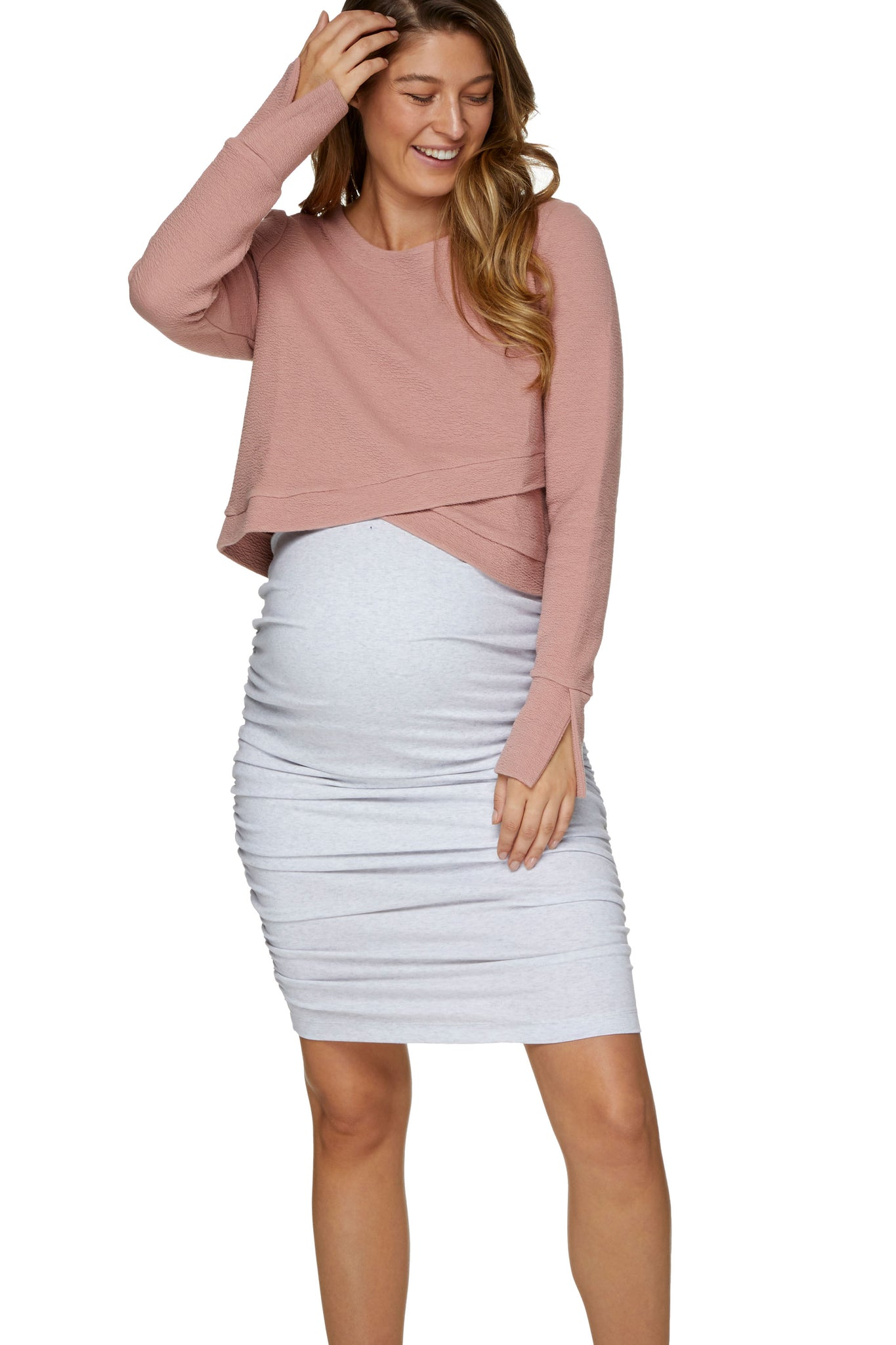 Body-con Maternity Skirt - 1