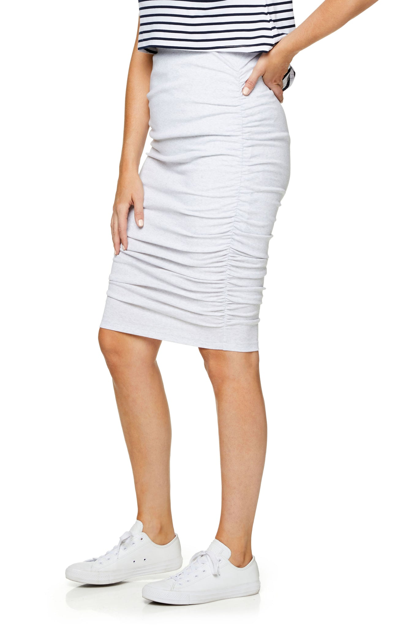 Body-con Maternity Skirt - 7