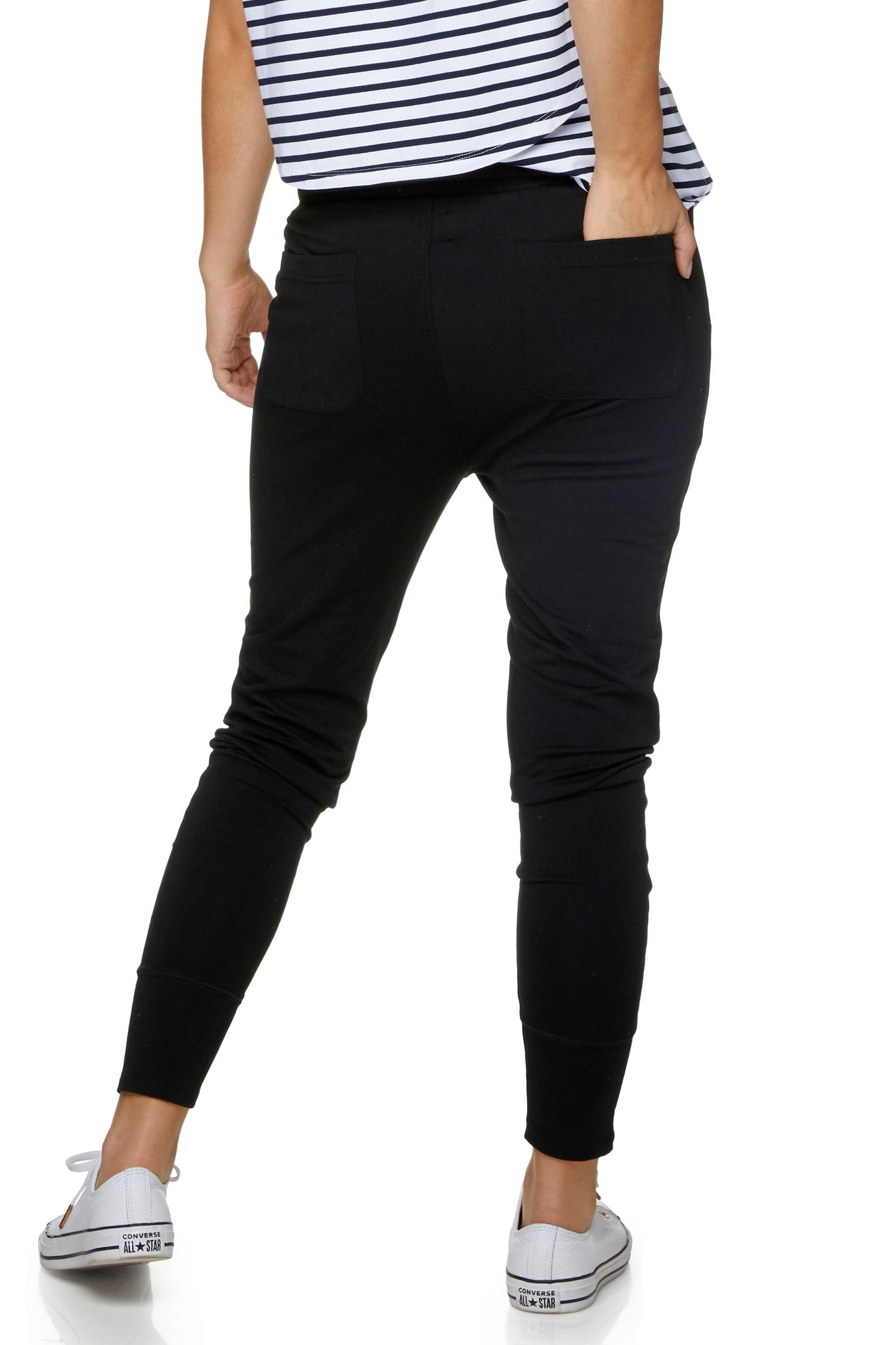 Black Maternity Pants / Jogger 3