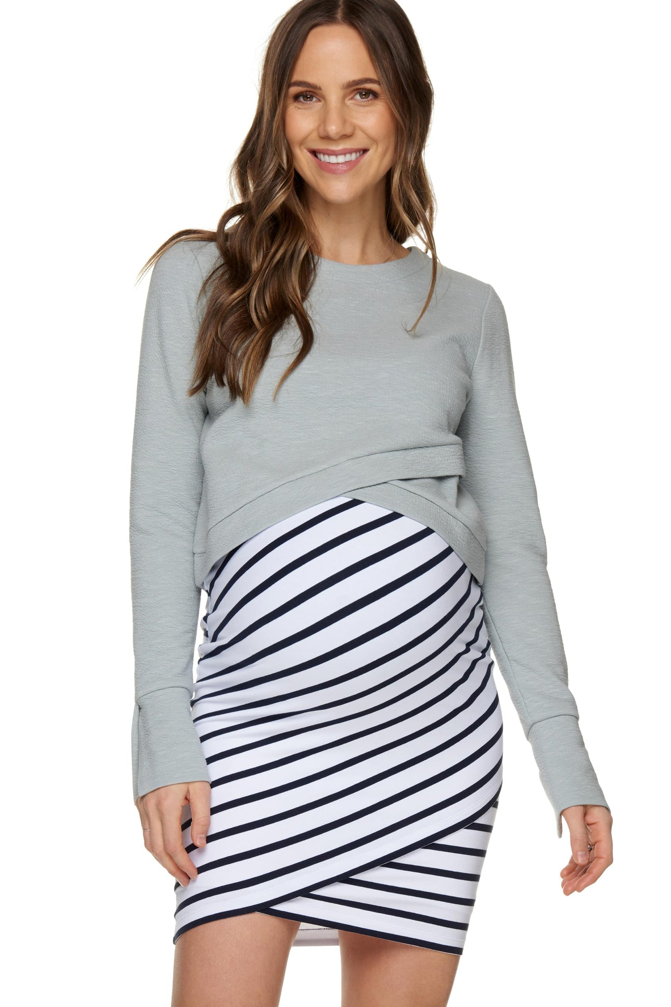 Maternity & Nursing Crop Top 1