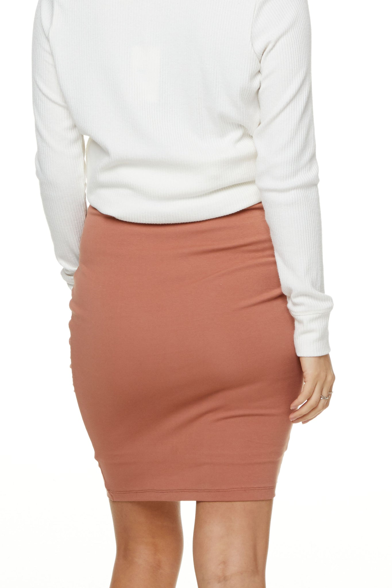 Bodycon Maternity Skirt Image 4