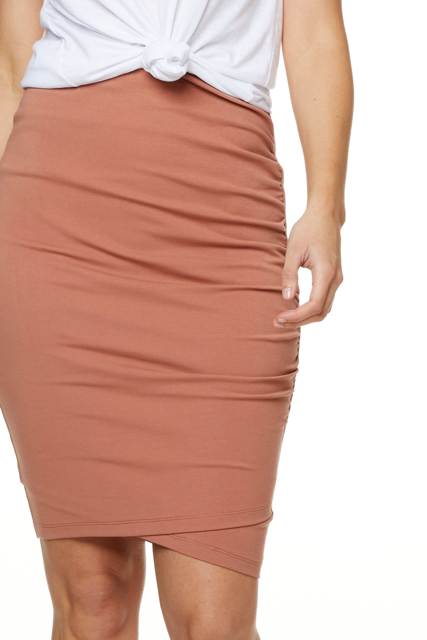 Bodycon Maternity Skirt Image 6