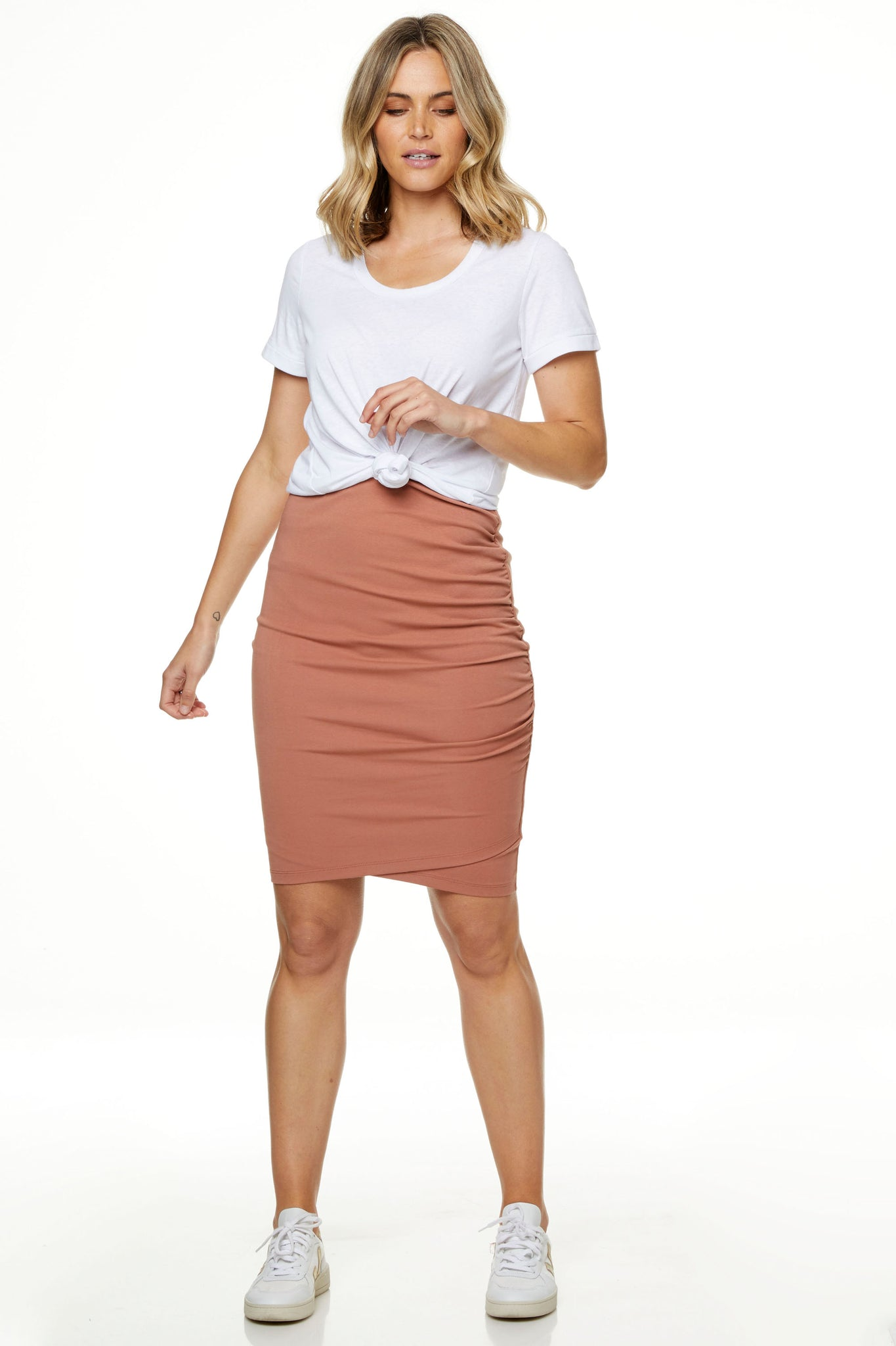 Bodycon Maternity Skirt Image 7