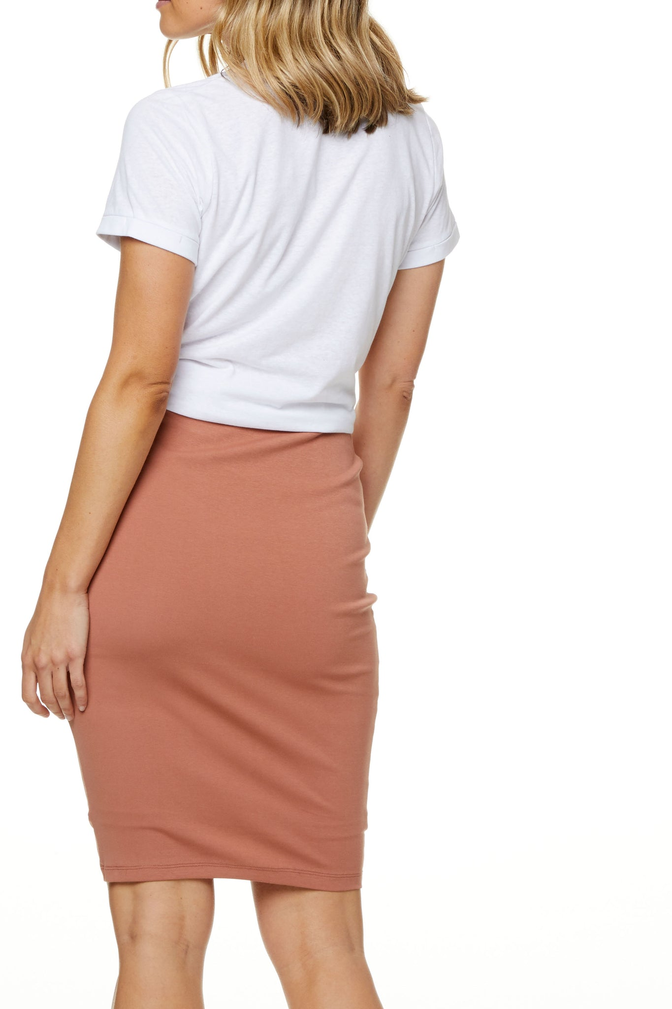 Bodycon Maternity Skirt Image 8